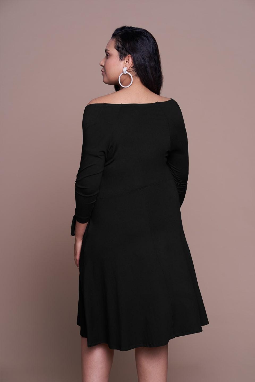 b9ffb279ad MIKA BLACK letnia sukienka plus size w stylu boho
