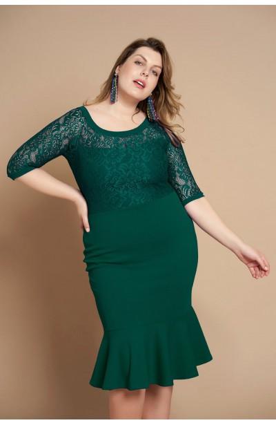 cfce3d578c Modne sukienki dla puszystych plus size - Duże rozmiary XL