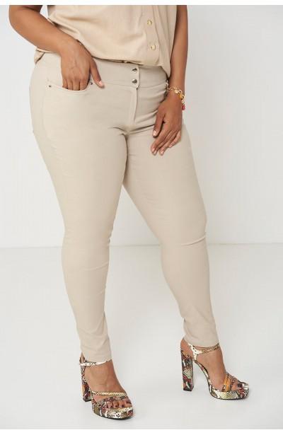 SYDNEY SAND wygodne spodnie plus size