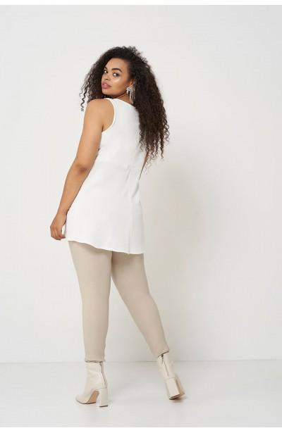 AMBER ECRU elegancka bluzka na lato