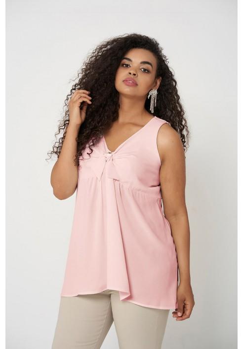 AMBER PINK zwiewna bluzka plus size na lato