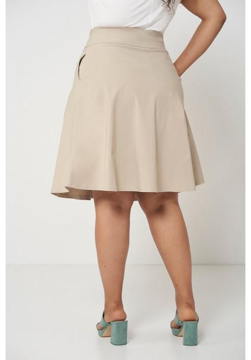 SONJA SAND minimalistyczna spódnica plus size