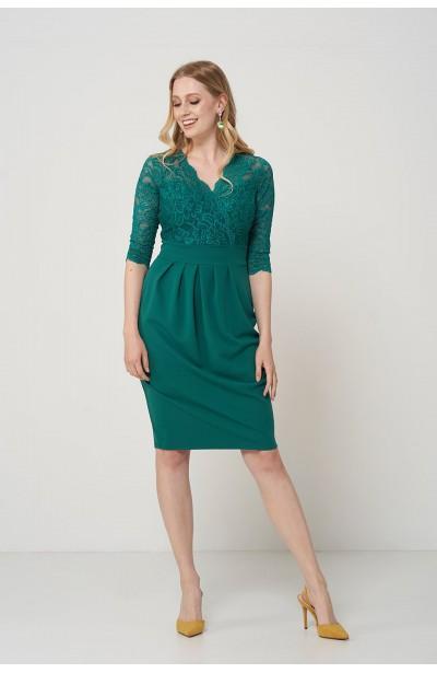 CARMEN GREEN elegancka...
