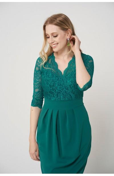 a523d7069b69e7 Modne sukienki dla puszystych plus size - Duże rozmiary XL, XXL ...