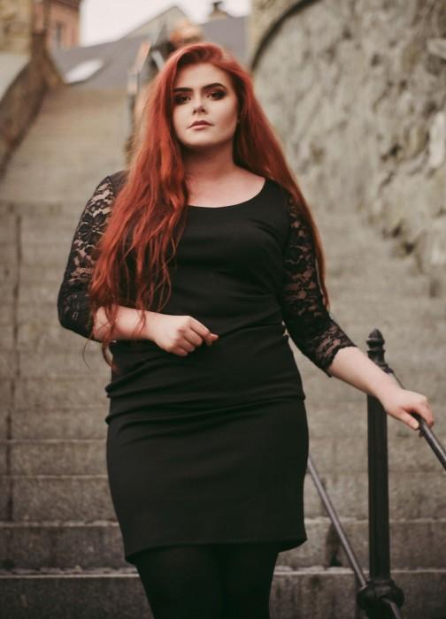 Sukienka CHARLOTTE BLACK